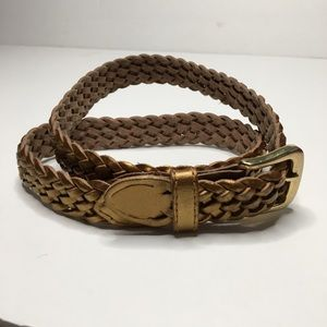 Gold Braided Belt